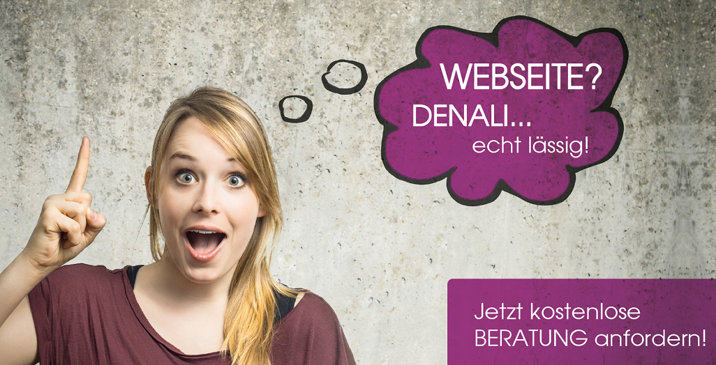 WEBSEITEN Angebot Denali.at