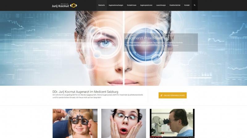 Webagentur für Augenarzt