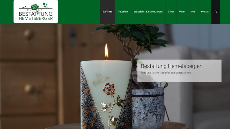 Bestattung Homepage